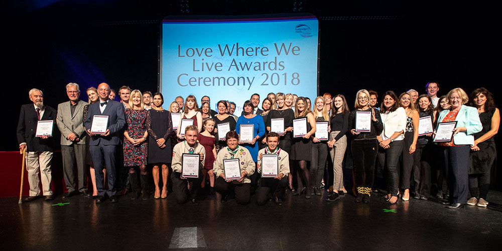 Picture of the love where we live finalists from 2018