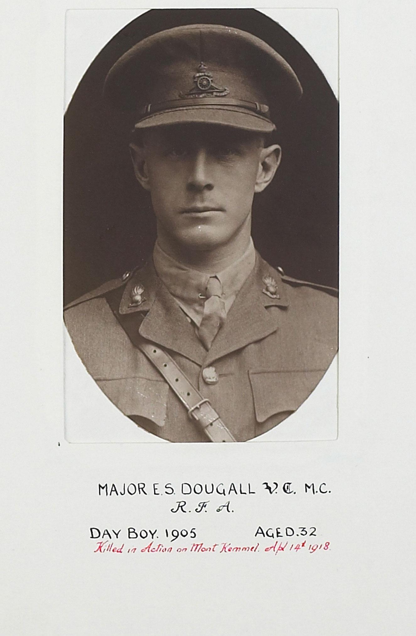 Eric Stuart Dougall VC