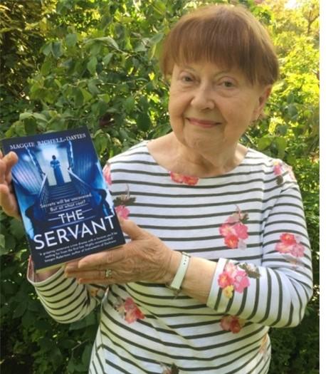 Local author, Margaret Davies