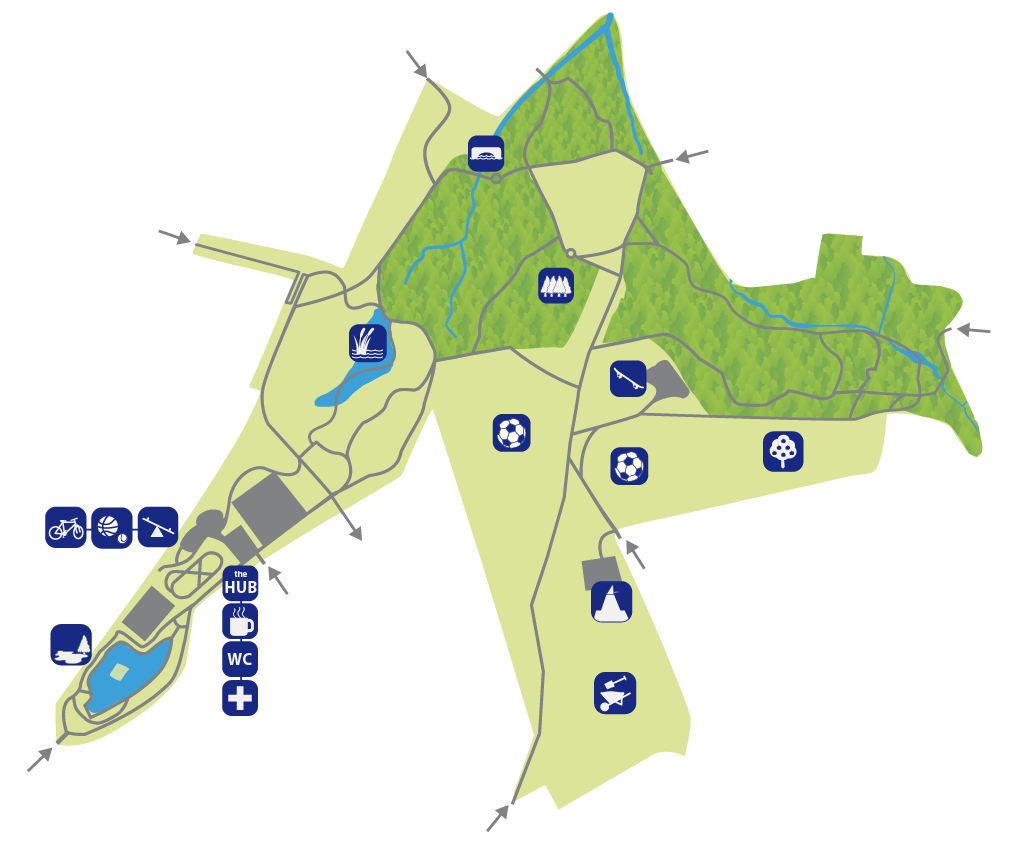 Map of Grosvenor and Hilbert park