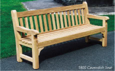 Picture of a cavendish bench