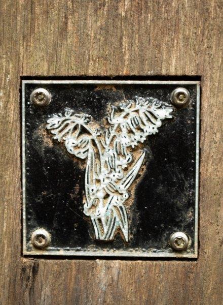 Bluebells brass rubbing