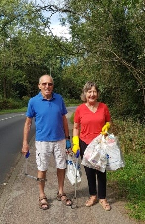 Litter pick on Rusthall Common