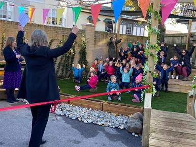 Opening of Tunbridge Wells Free School Playground