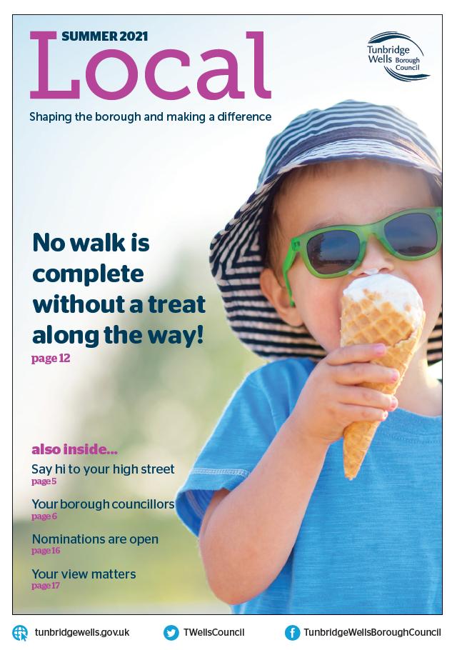 Tunbridge Wells Local magazine, Summer 2021 edition