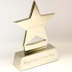 Staff awards trophy