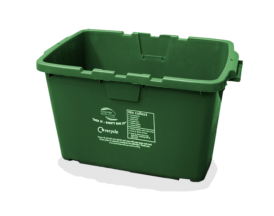 green - recycling box