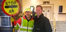 Captain Safety visited Royal Tunbridge Wells and Hawkhurst
