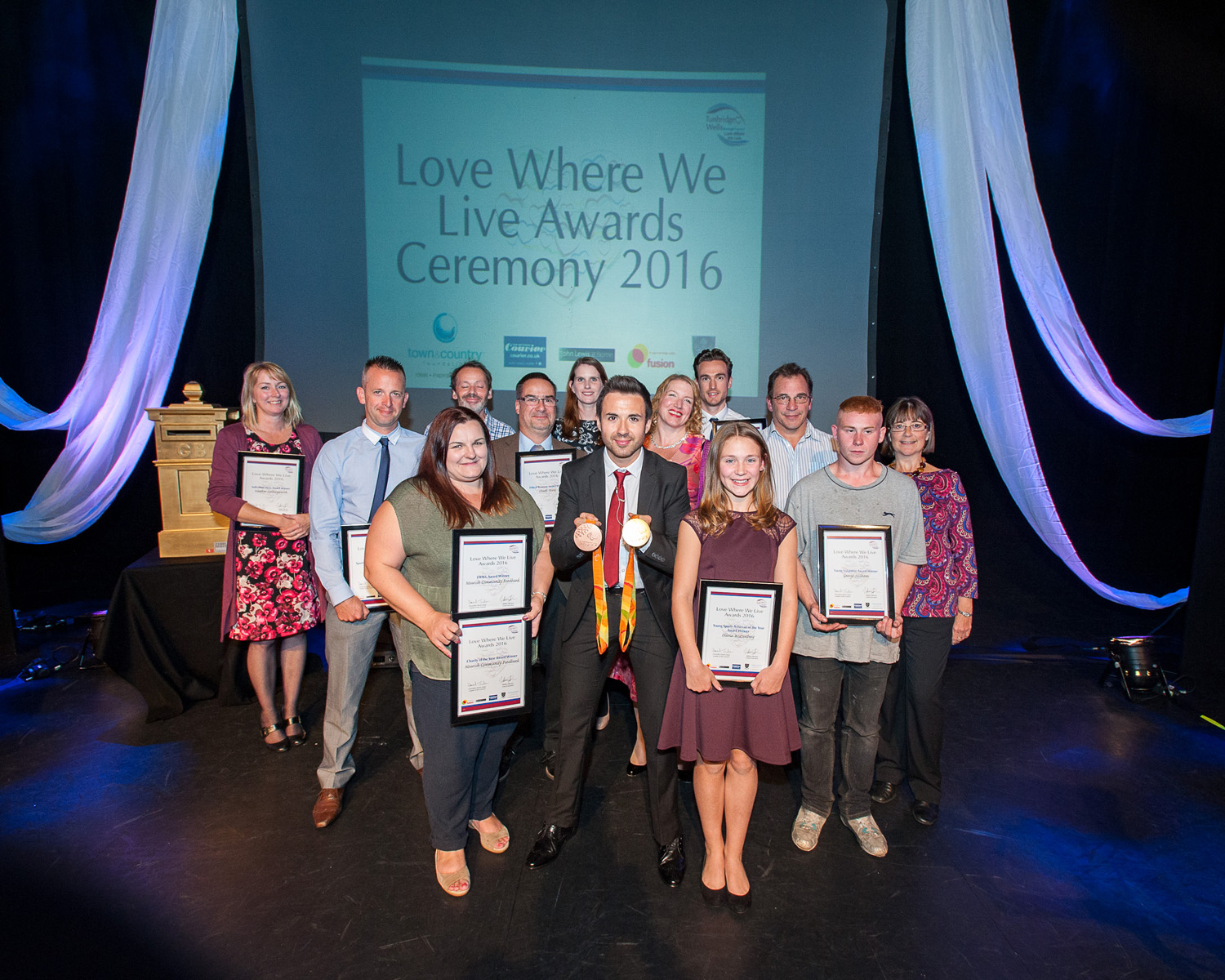 Picture of the love where we live finalists from 2016