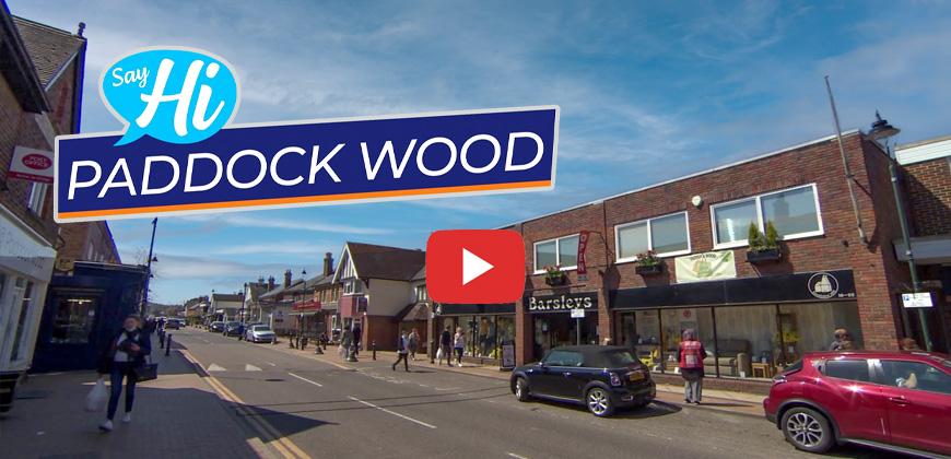Paddock Wood high street image