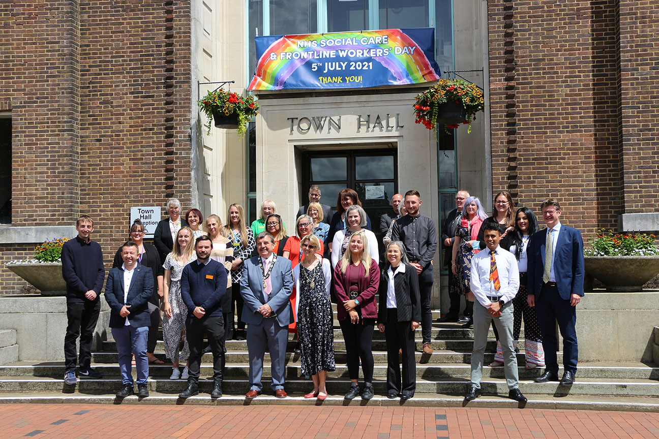 The Mayor hosts NHS, Social Care and Frontline Workers' Day