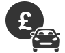 Pay a parking fine icon