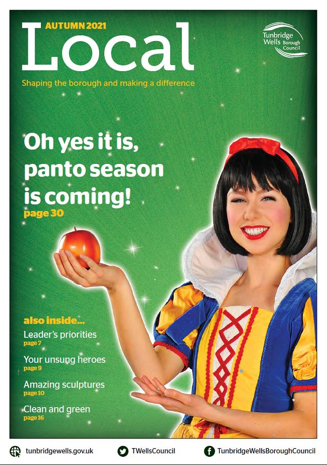 Tunbridge Wells Local magazine, Autumn 2021 edition