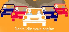 Don't idle your engine campaign