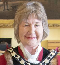 Photo of the Mayor, Cllr Joy Podbury