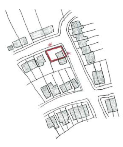 Where an application site is on a corner plot, site notices will be placed on both frontages.