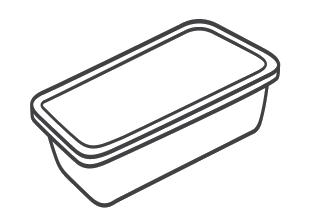 Plastic pots & tubs (eg butter/yoghurt/ice cream)