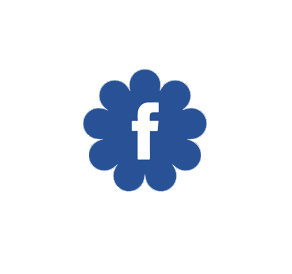Facebook flower logo