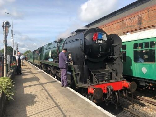 Sir Keith Park, Battle of Britain class steam engine