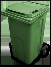 Green - refuse bin