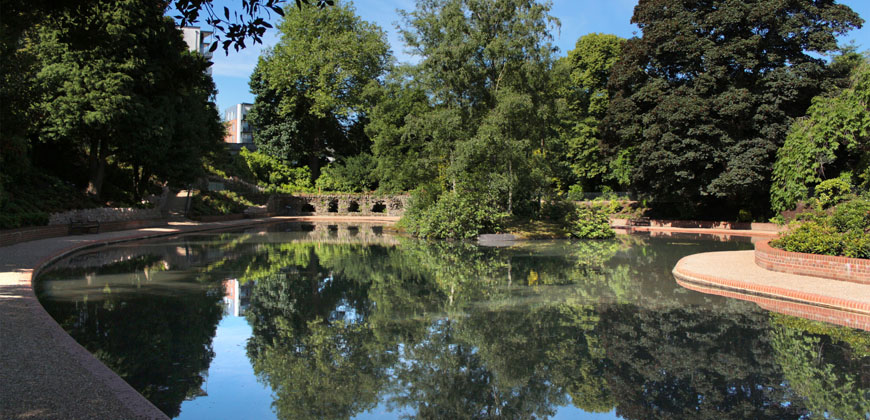 Picture of the Marnock Lake in Grosvenor and Hilbert park.