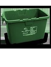 recycling bin-brown bin