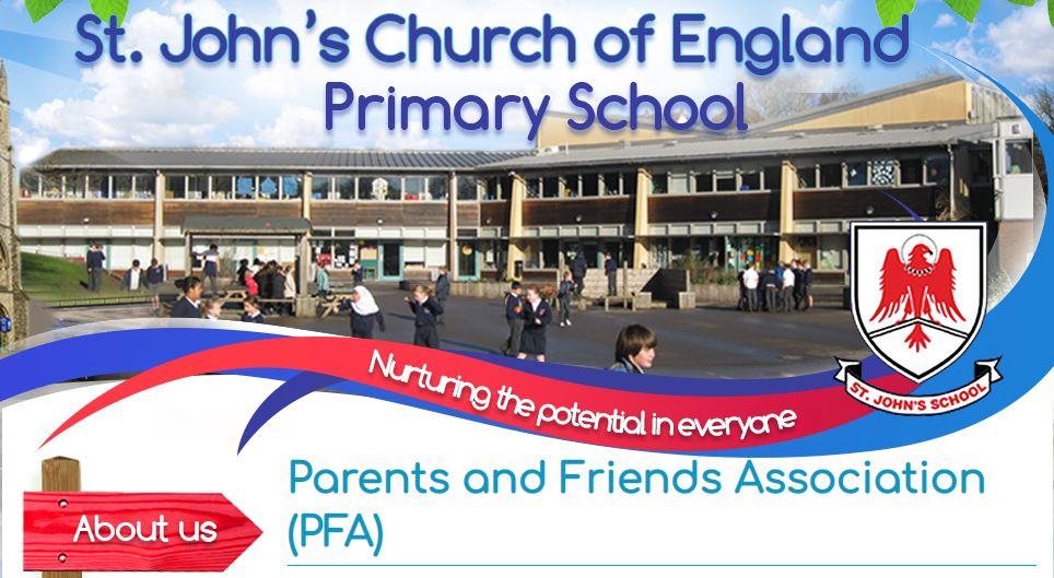 St John's PFA logo