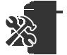 Report a broken bin icon