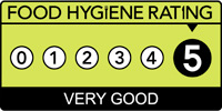 Food hygiene rating scheme score five