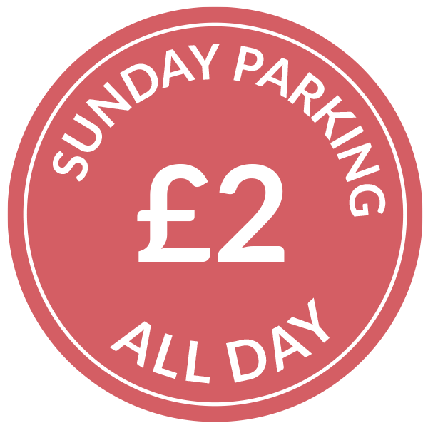 Sunday parking £2 All Day