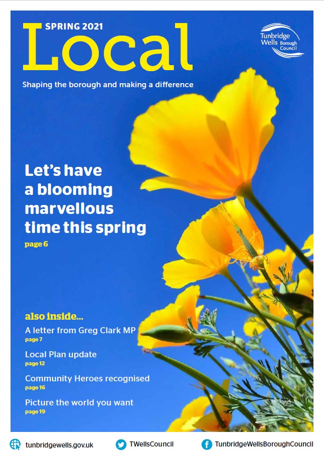 Tunbridge Wells Local magazine, Spring 2021 edition