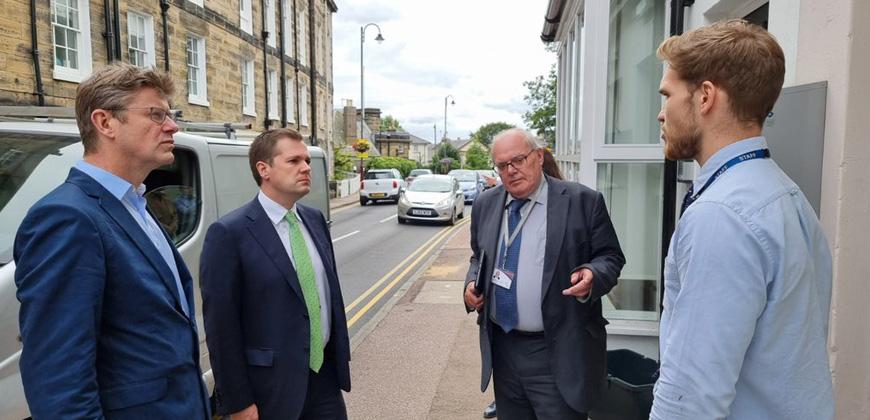 Secretary of State visits Tunbridge Wells