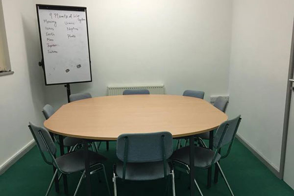 Picture of the meeting room at the TN2 Centre