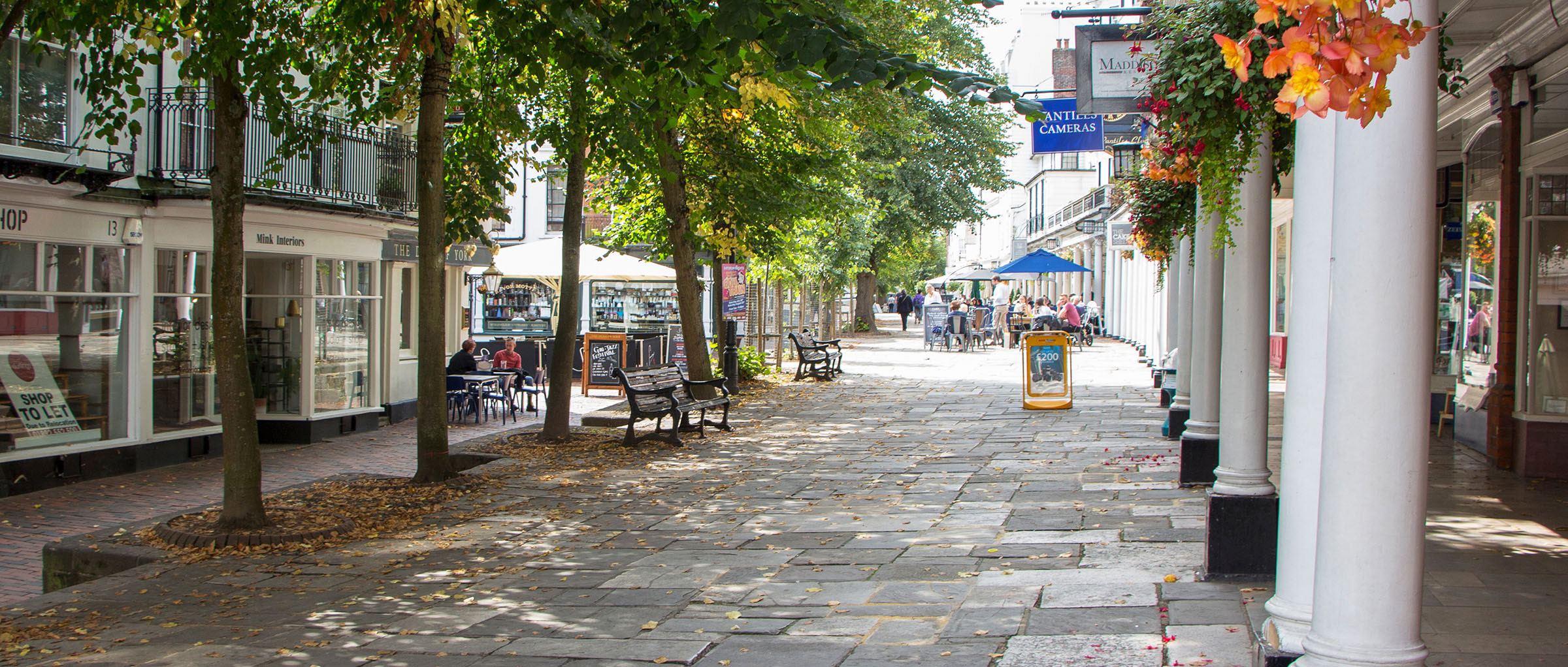 The Pantiles and the Chalybeate spring
