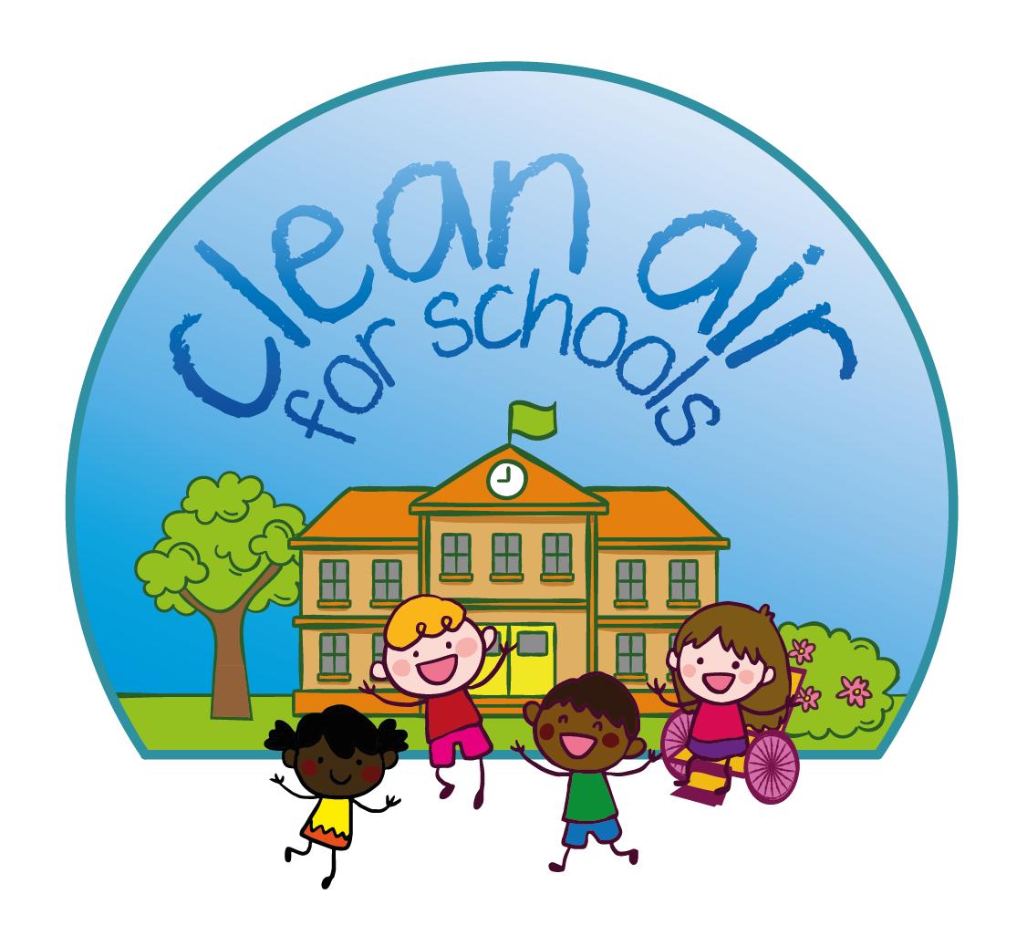 Clean Air for Schools Logo