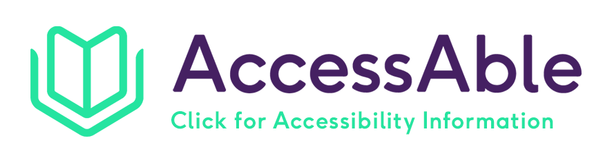 Clickable logo for the AccessAble website information about Dunorlan Park