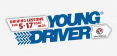 Driving lessons for 10-17 years old