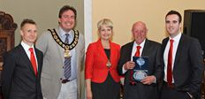 Tunbridge Wells Football Club meet the Mayor