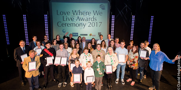 Picture of the love where we live finalists from 2017